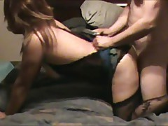 Husbands Boss Fucking and Creampie Slutty Wife