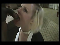 Wife & BBC fuck and facial