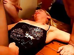 French wife fucked on a table